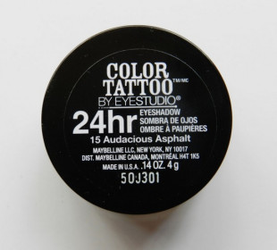 Maybelline Color Tattoo Eyeshadow Audacious Asphalt