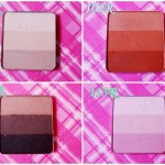 Inglot  Rainbow Eyeshadow Swatches:113R,101R,102R,112R