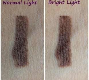 Nyx Eye/Eyebrow Pencil in Brown: Swatches & Review