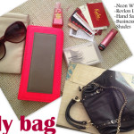 P&B Snapshots: Look  Inside Our Bags!