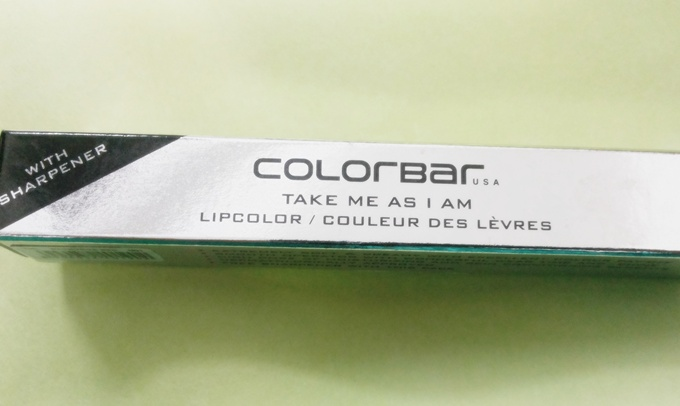 Colorbar take me as i am lipcolor in sensuous red 1