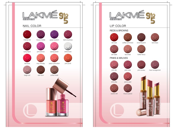 Lakme Launches New 9 to 5 Office Stylist Range of Makeup
