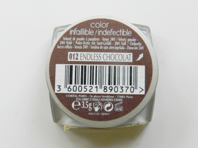 Loreal Endless Chocolate (4)