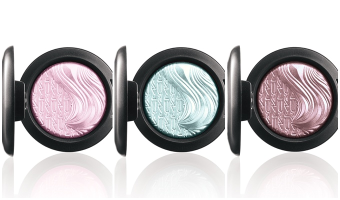 MAC Dimension Collection Blushes Eyeshadows 2