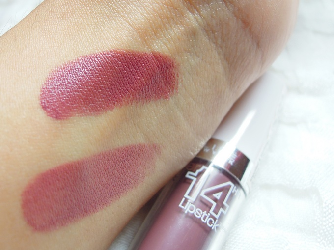 Maybelline Super Stay 14 hr lipstick in Always Plum_2