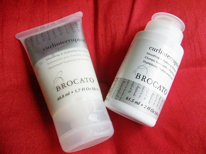 Brocato curlinterrupted Smoothing and hydrating shampoo and conditioner
