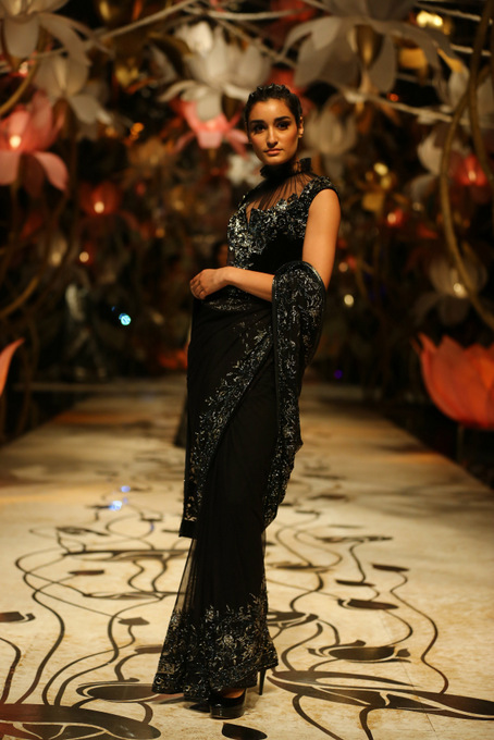 India Bridal Fashion Week Delhi 2013 - Model seen in bridal collection of  Rohit Bal_2