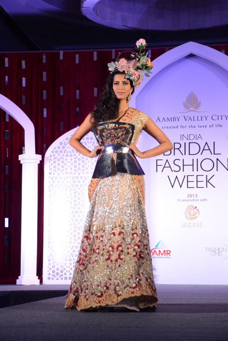 India Bridal Fashion Week   Falguni and Shane's collection