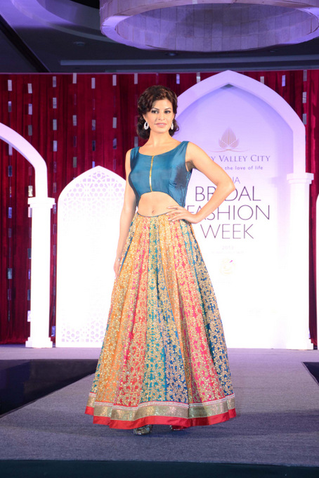 India Bridal Fashion Week Press Preview - Jacqueline Fernandez in Jyotsna Tiwari Design