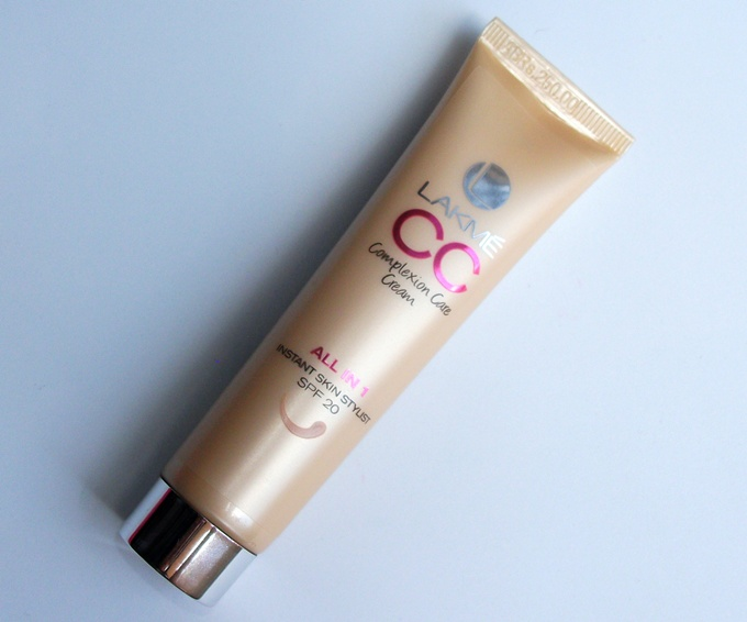 Thumbnail image for Lakme CC Complexion Care Cream In Beige: Swatches & Review