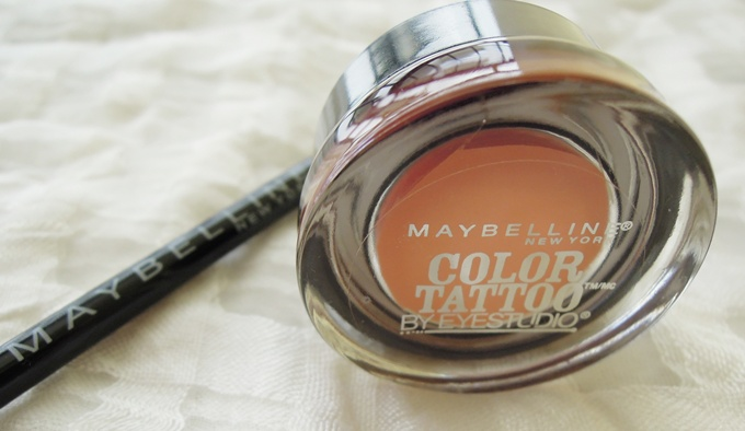 Maybelline Color Tattoo Fierce and Tangy 1
