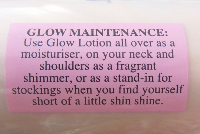 Soap and Glory The Glow Lotion (3)