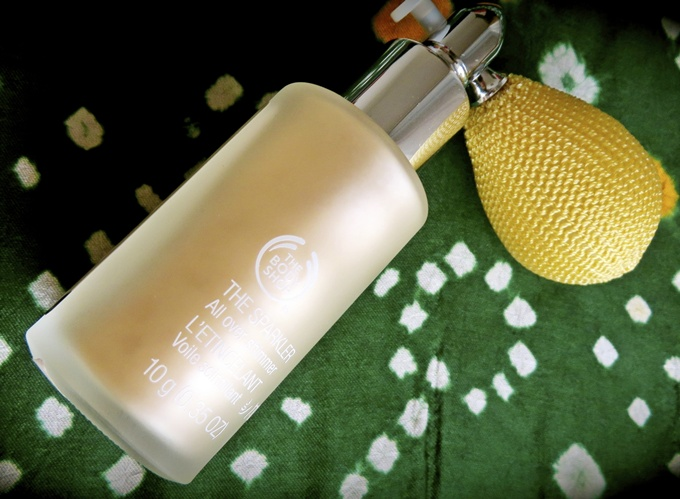 Thumbnail image for The Body Shop Sparkler Enchanting Gold Review