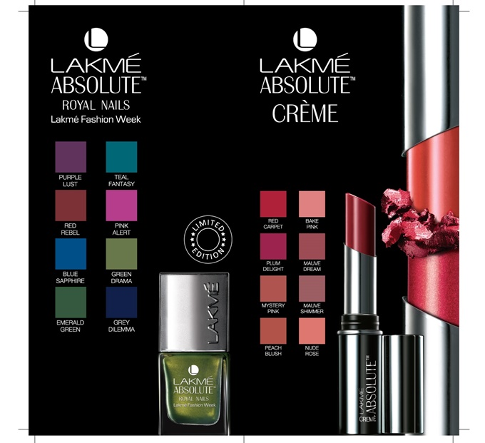 Lakme Absolute Royal_Shade Card 2