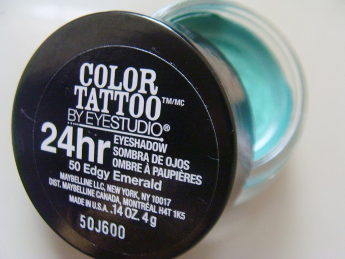 Maybelline Color Tattoo Edgy Emerald (4)