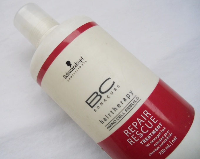 Schwarzkopf Bonacure Repair Rescue Treatment Mask3