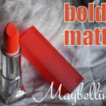 Maybelline Bold Matte Lipstick Review: MAT 02