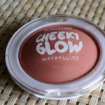 Maybelline Cheeky Glow Blush in Creamy Cinnamon : Review & Swatches