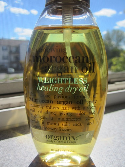 Organix Renewing Moroccan Argan Oil Weightless Healing Dry Oil Review (2)