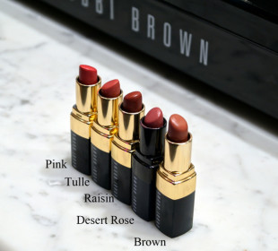 Best Bobbi Brown Lipsticks for Indian Skin : Swatches !