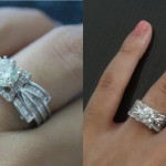 P&B Snapshots: Look At Our Engagement Rings!