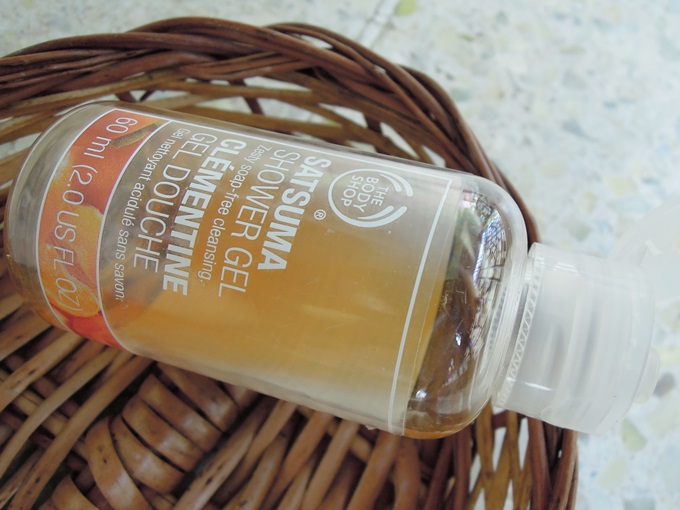 The Body Shop Satsuma Shower gel4