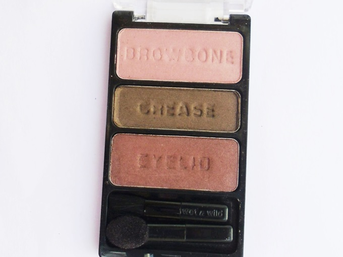 Wet n Wild Knock On wood Eyeshadow Trio4