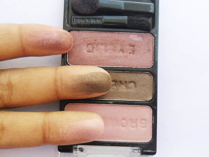 Wet n Wild Knock On wood Eyeshadow Trio6