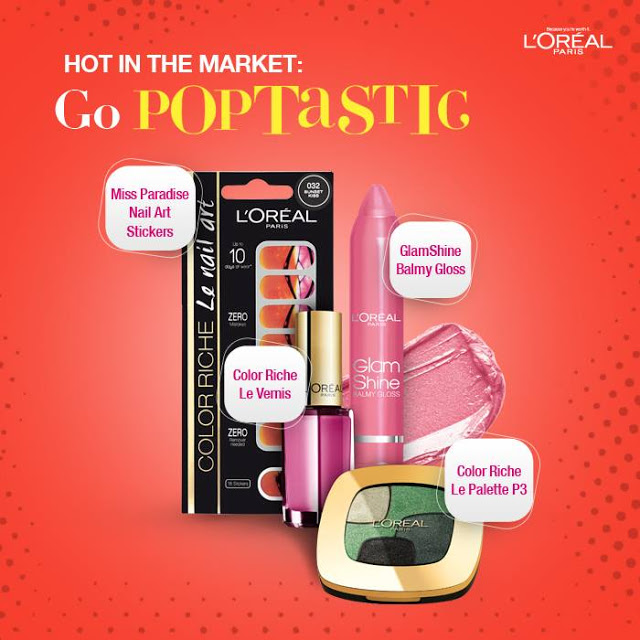 l'oreal-Poptastic collection