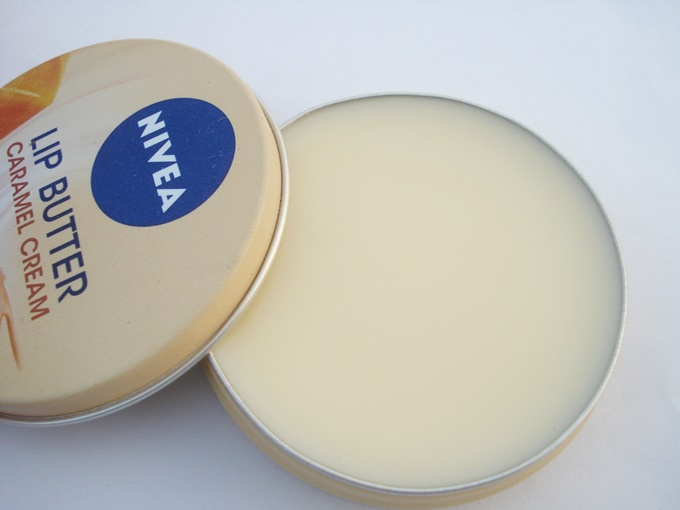 NIVEA LIP BUTTER IN CARAMEL CREAM REVIEW (1)
