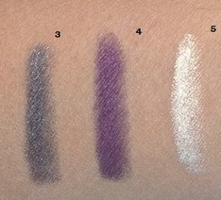 Lakme Drama Stylist Shadow Crayon Swatches