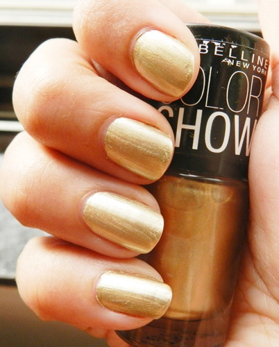 Maybelline Color Show Nail Polish Bold Gold 1