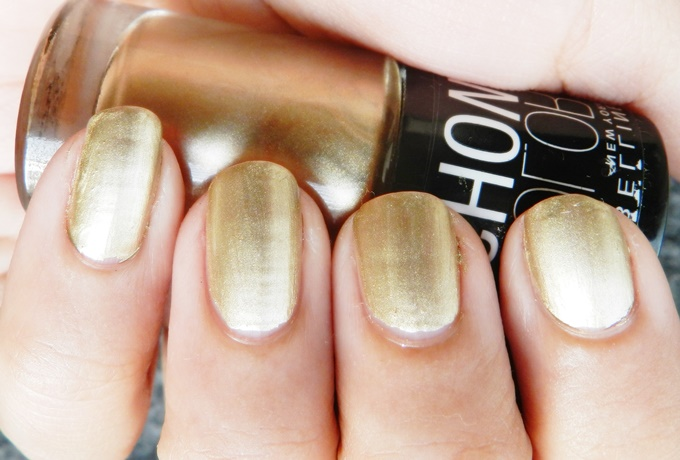 Maybelline Color Show Nail Polish Bold Gold (4)