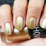 Maybelline Color Show Nail Polish In Bold Gold: Swatches & Review