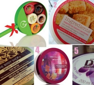 5 Fantastic Body Butters for Winter : Our Top 5 !