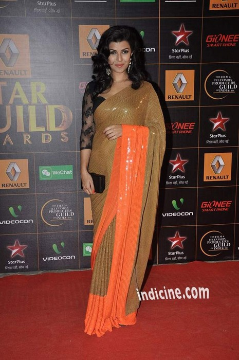 Nimrat-Kaur-at-Star-Guild-Awards-2014