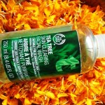 The Body Shop Tea Tree Facial Wash Review