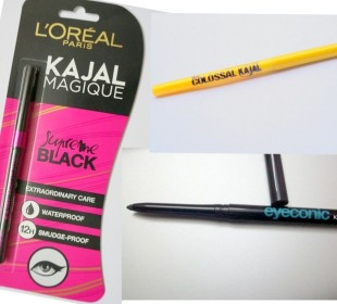 The Best Kajal in India: Lakme Eyeconic vs Maybelline vs Loreal !
