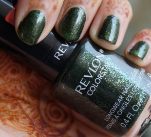 Revlon Colorstay Nail Polish in Rain Forest : Review & Swatches