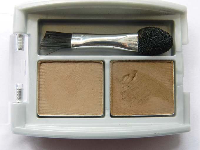 Jordana Brow Powder Duo In Dark Swatches & Review (3)