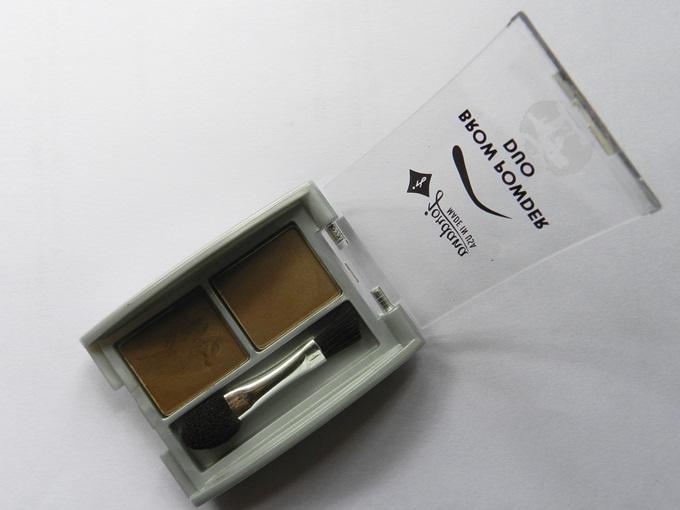 Jordana Brow Powder Duo In Dark Swatches & Review (5)