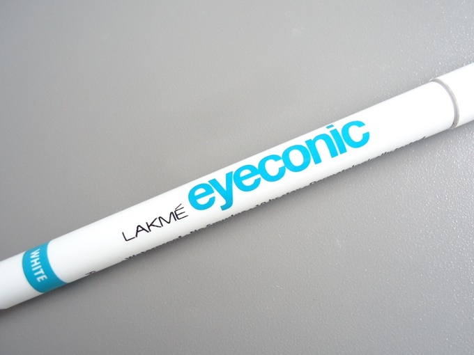 Thumbnail image for Lakme Eyeconic Kajal In White: Swatches & Review