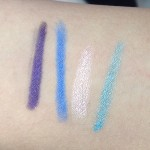 Maybelline Color Show Crayon Khol Swatches