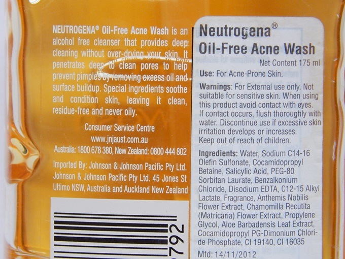 neutrogena oil free acne wash (8)