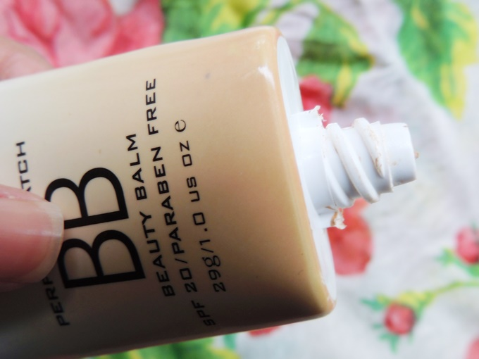 Colorbar Perfect Match BB Cream Review (2)