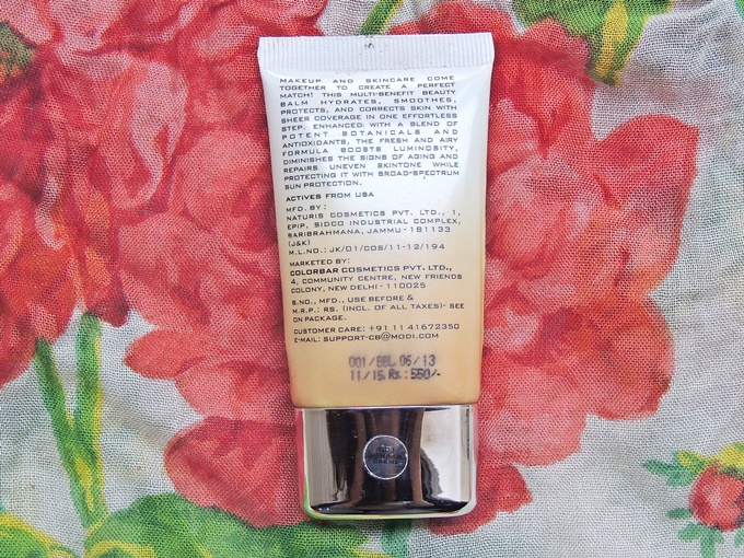 Colorbar Perfect Match BB Cream Review (4)