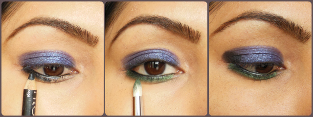 Lakme Illusion Range - Kareena Kapoor Inspired Eye Makeup Tutorial Steps 2