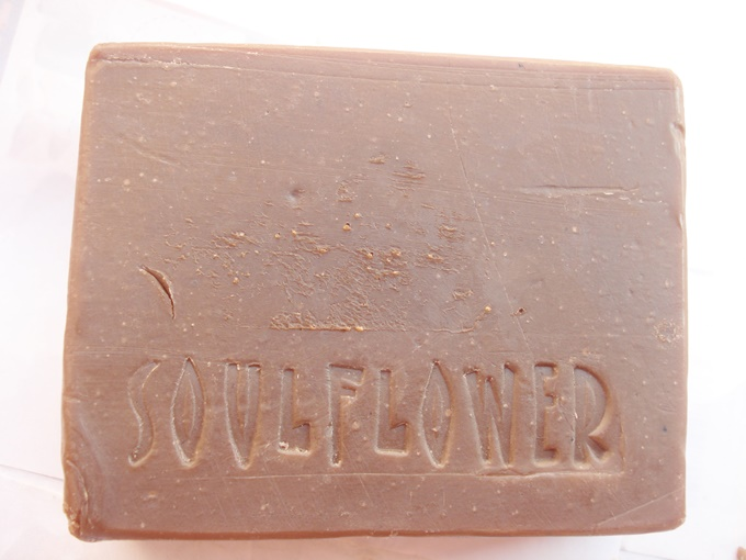 Soulflower Bite Me Chocolate Soap Review (2)