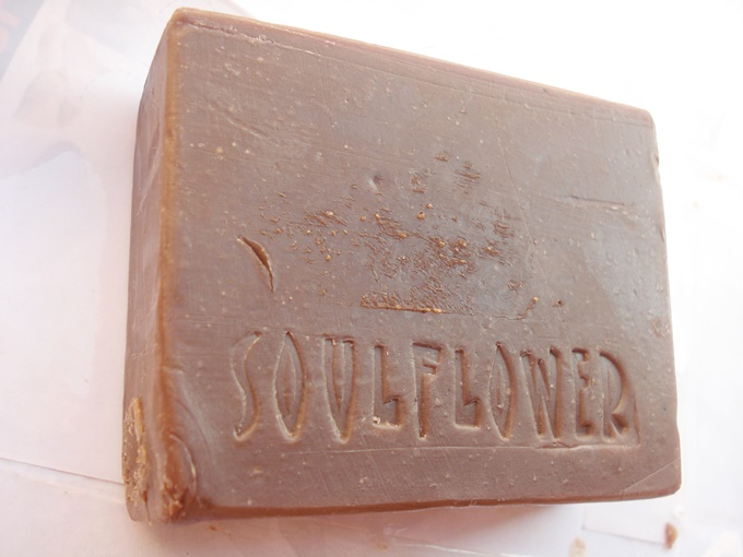 Soulflower Bite Me Chocolate Soap Review (3)