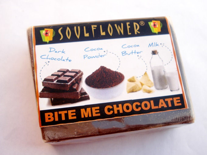Soulflower Bite Me Chocolate Soap Review (5)